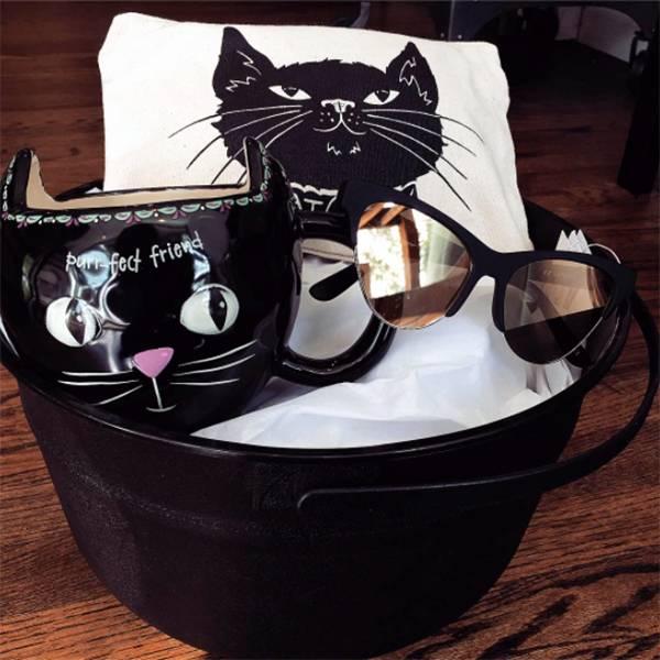 Natural Life Mug - Black Cat