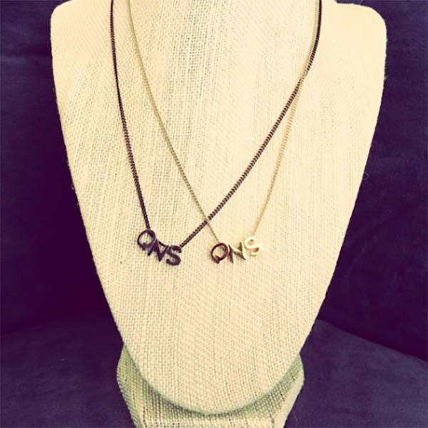 """Bou-Cou QNS Gold 16"""" Necklace"""
