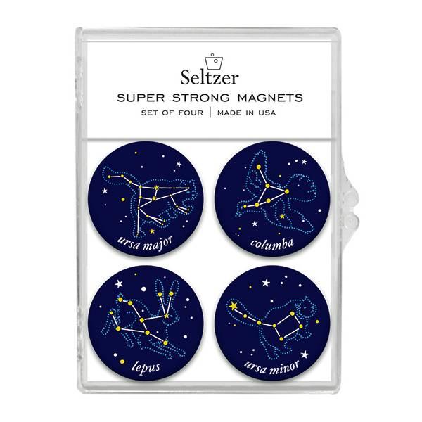 Seltzer Magnet Set - Constellations