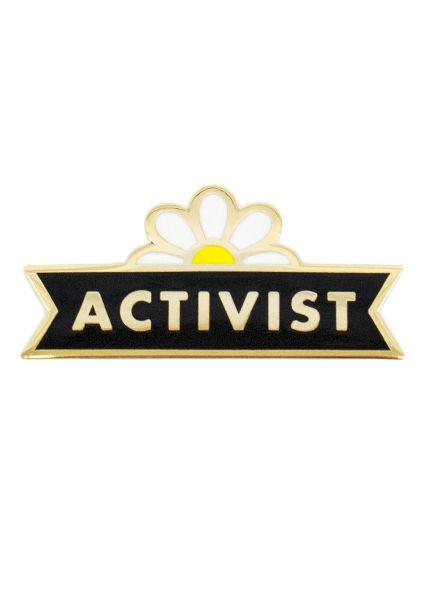Seltzer Enamel Pin - Activist