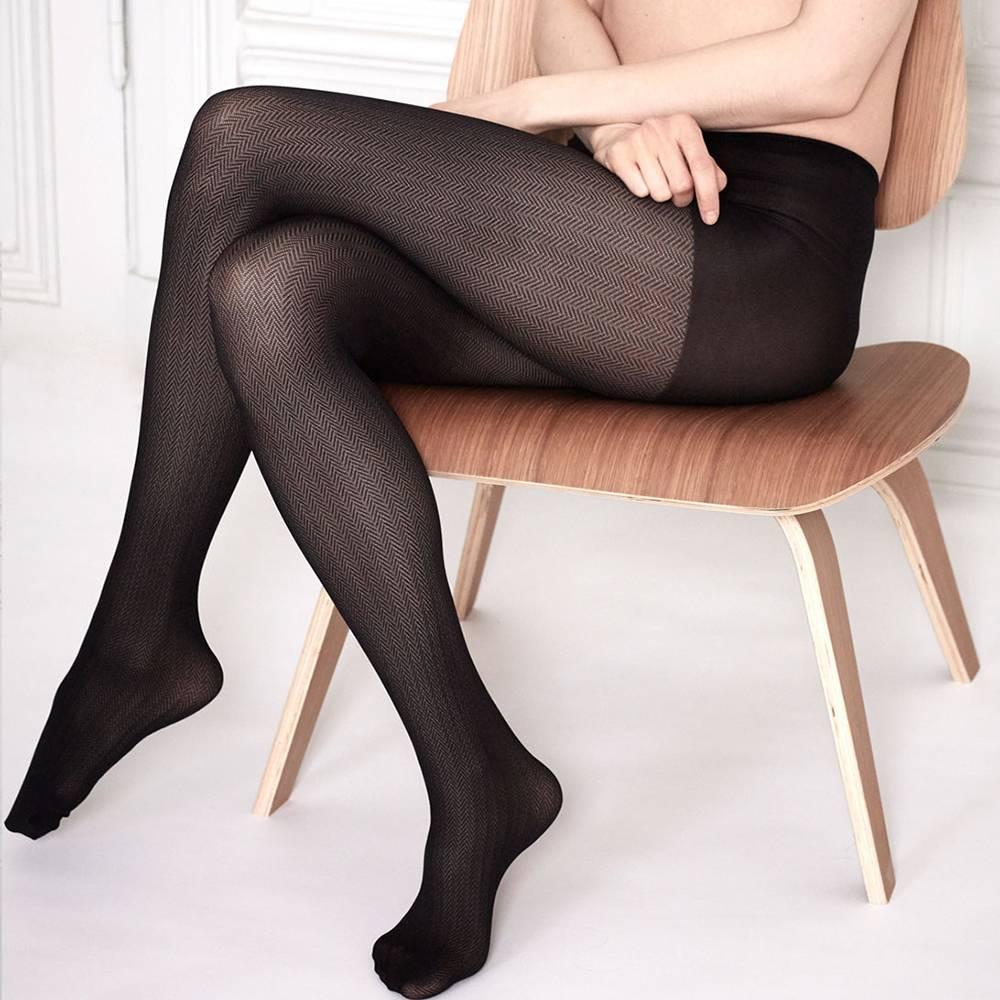 Swedish Stockings Swedish Stockings Nina Fishbone Black