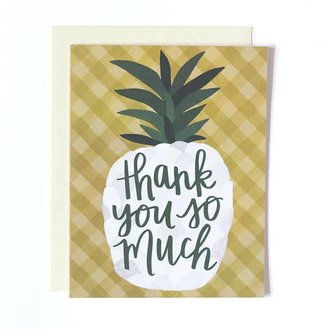 1canoe2 Pineapple Thank You