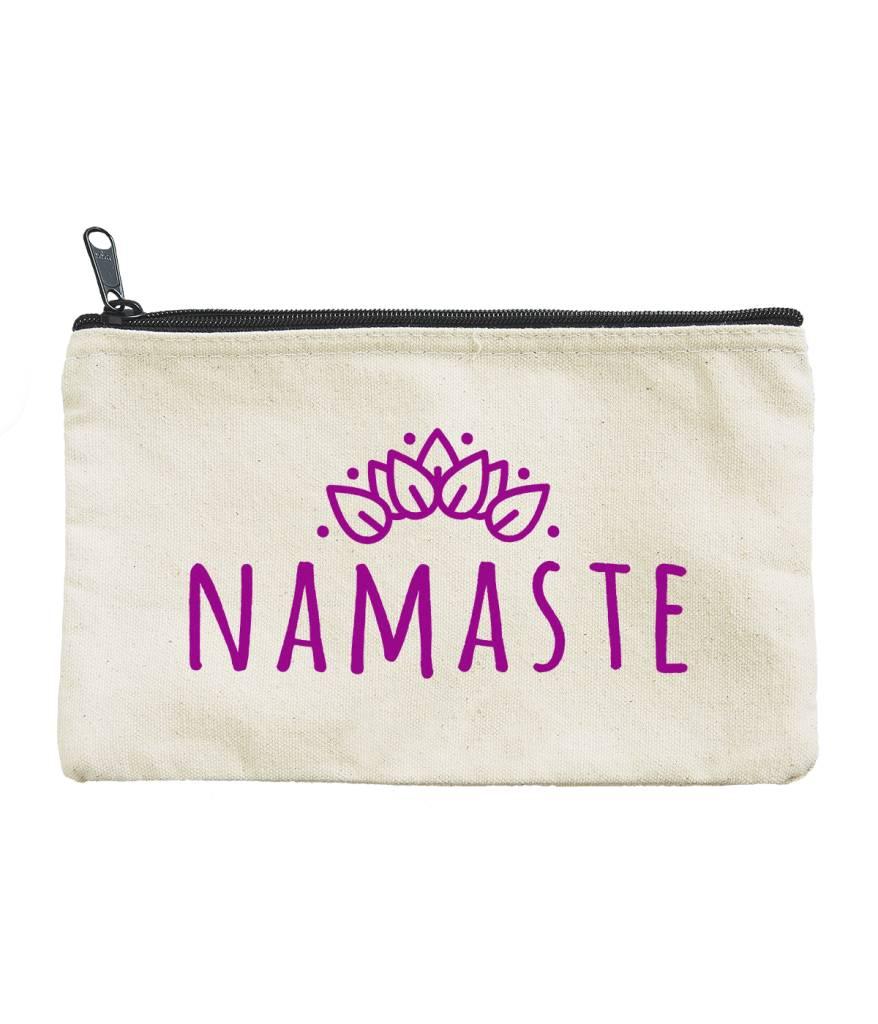 Seltzer Zip Pouch - Namaste