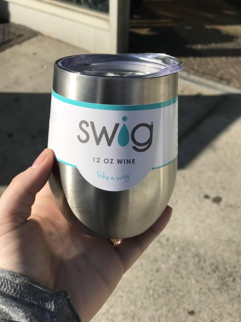 Swig Swig 12oz. Wine- Stainless Steel