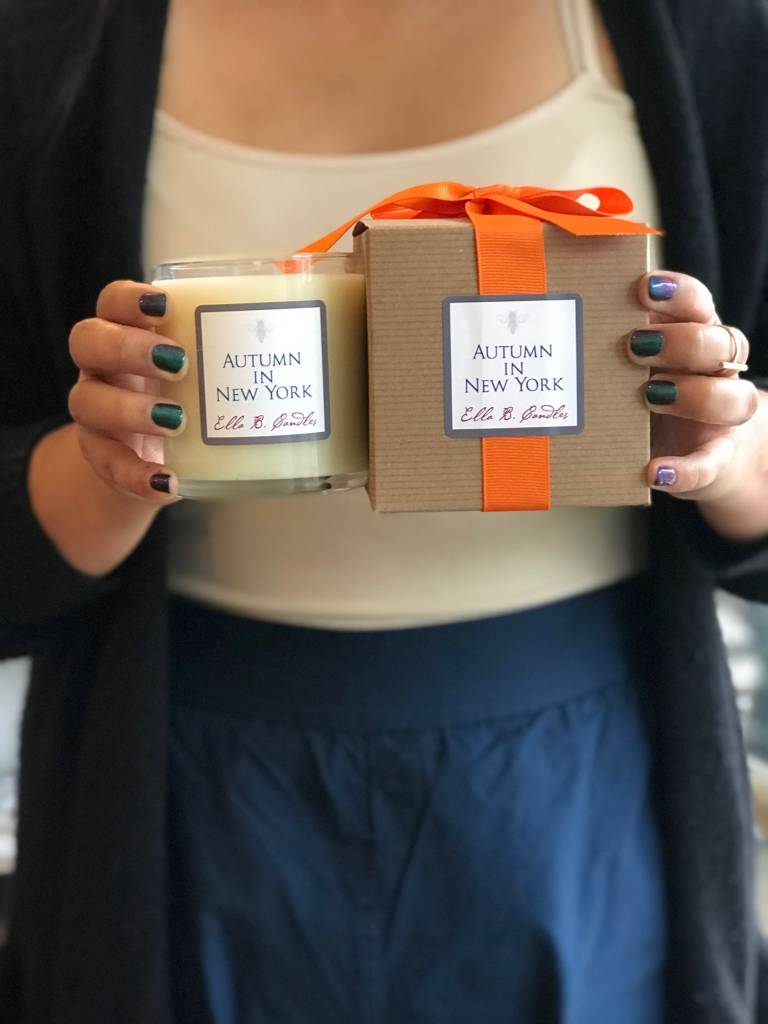 Ella B. Candles Autumn In NY Candle