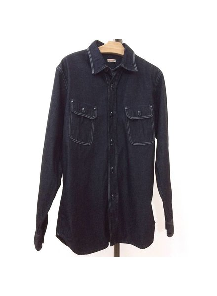 kapital Kapital Raw Denim Work Shirt