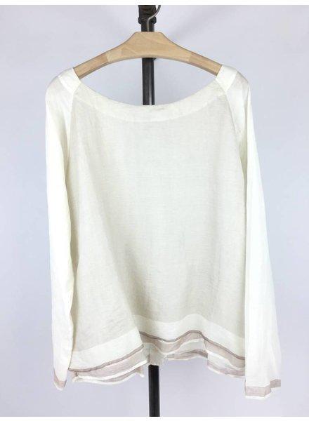 PERO Pero Silk & Cotton Top