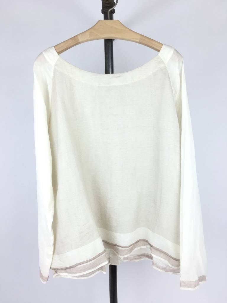 PERO Pero Silk & Cotton Top