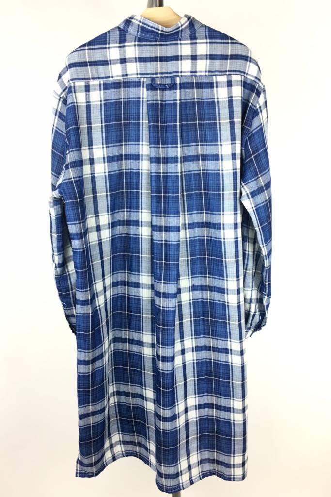 Sleep Shirt Sleep Shirt Long Double Faced Plaid