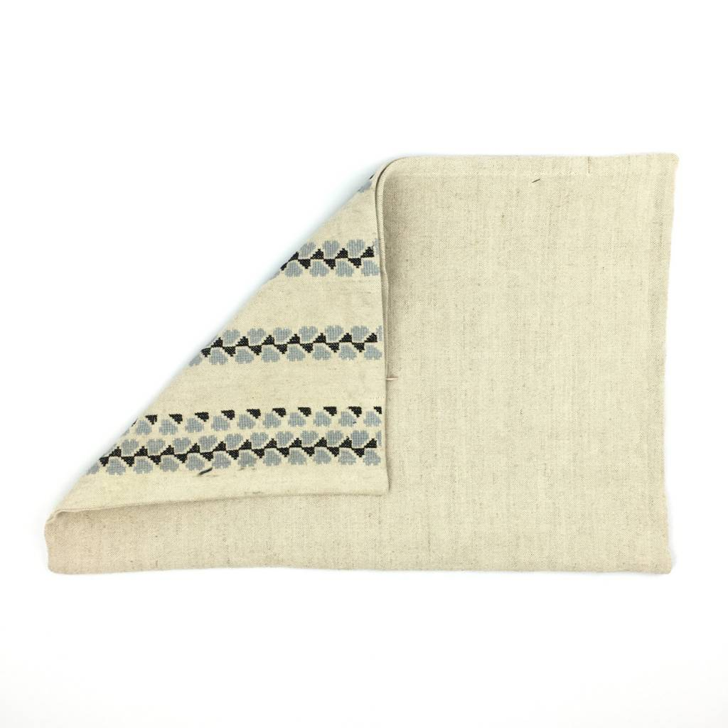Khadi and Co Khadi and Co Embroidered Pillow Cover