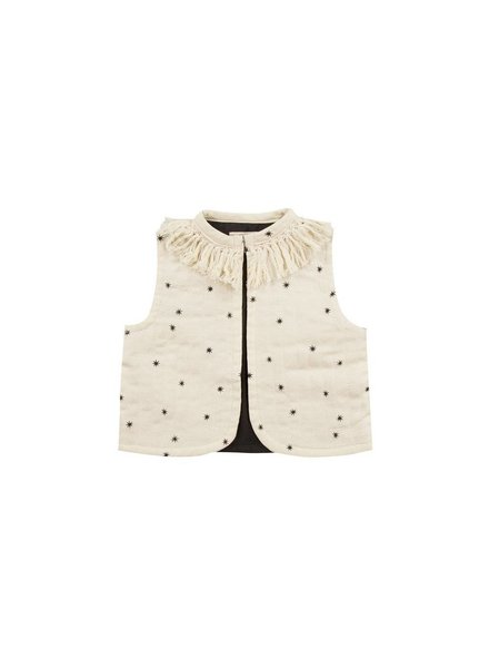 Rylee + Cru Rylee + Cru Fringe Starlight Vest