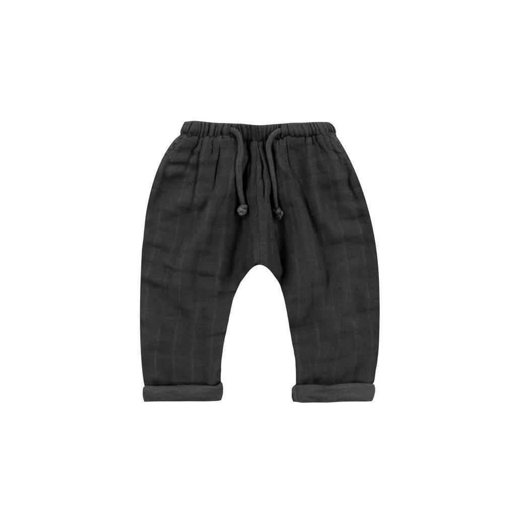 Rylee + Cru Rylee + Cru Black Baggy Pant