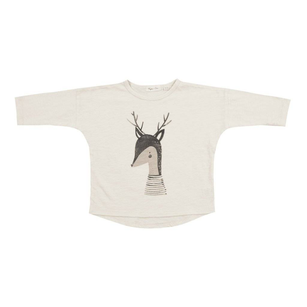 Rylee + Cru Rylee + Cru Deer Long Sleeve