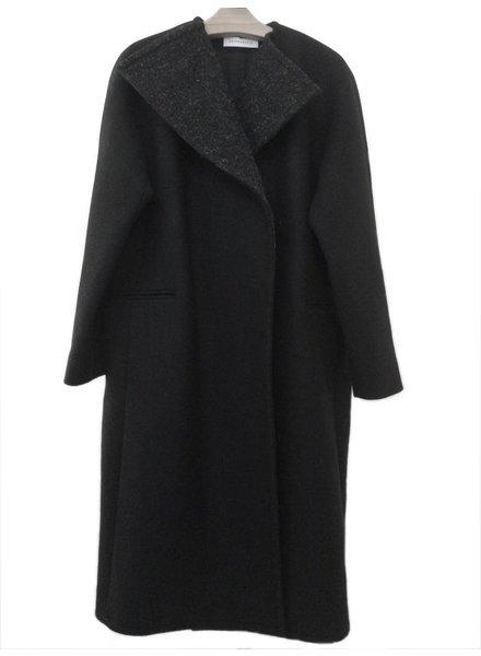 Sayaka Davis Black Lapel Coat