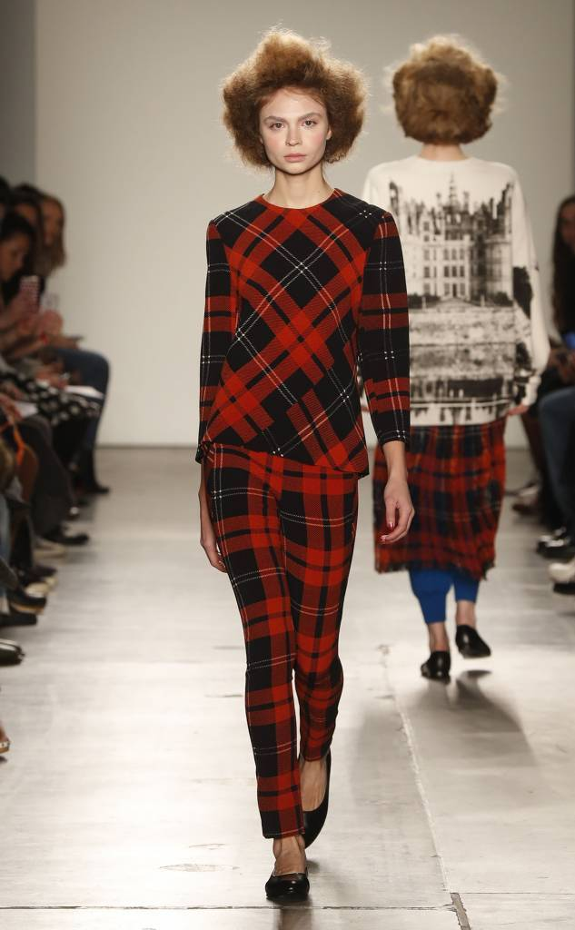 A Detacher A Detacher Tartan top
