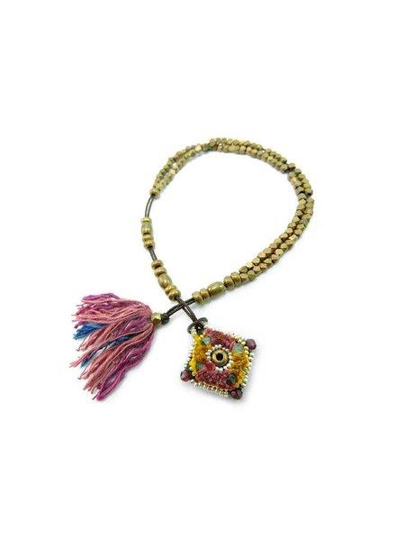 ISHI Ishi Yala Cardinal Bracelet