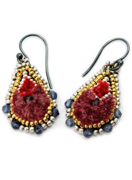 ISHI Ishi Bloom Gota Earrings