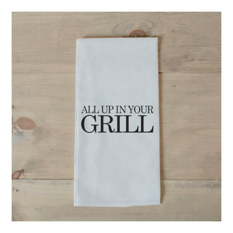 Tea Towel In Your Grill