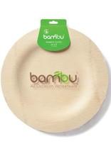 """Bambu Veneerware Plate Round 9"""""""