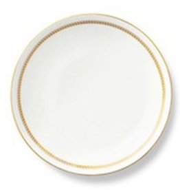 B by Brandie Bone China Dinner Plate Corrigan Gold