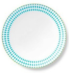 B by Brandie Bone China Dinner Plate Hutton Turquoise