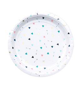 Harlow & Grey Triangle Arrow Large Party Plate