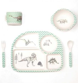 Love Mae Dinosaur Feast Dinner Set