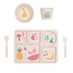 Love Mae Fruit Veggie Dinner Set