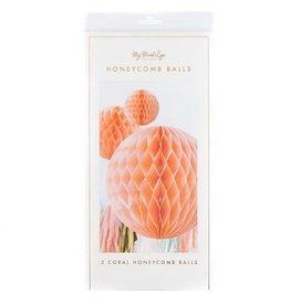 Coral Honeycomb Balls
