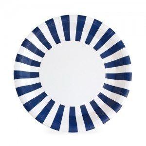 Paper Plate Naute So Navy