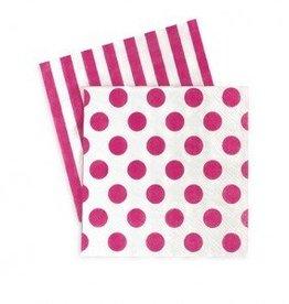 Paper Napkin Pop Pink
