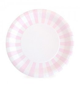 Paper Plate Marshmellow Pink