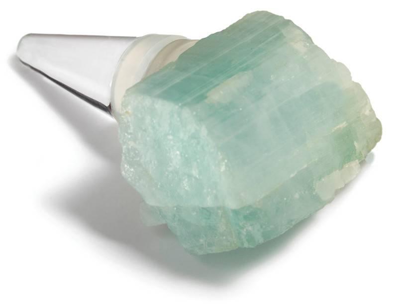RabLabs Bottlestopper Glass Aquamarine