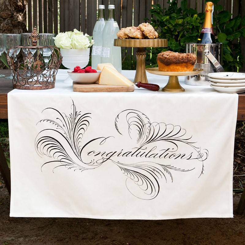 Congratulations Table Banner