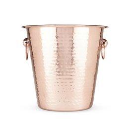 TRUE Hammered Copper Ice Bucket