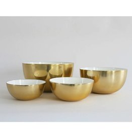 Hawkins New York Brass Enamel Bowl