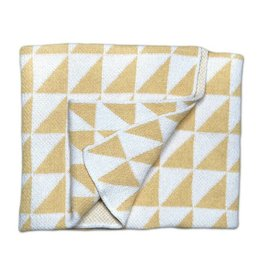 Savannah Hayes Mansfield Baby Blanket Maize