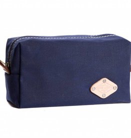 Wax Canvas Dopp Kit Blue