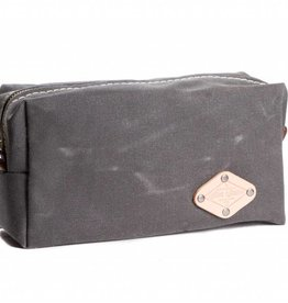 Wax Canvas Dopp Kit Grey