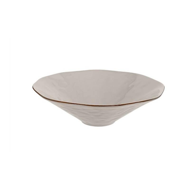 Cantaria Centerpiece Bowl Greige