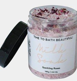 Sparkling Rose Bath Milk