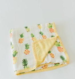 Little Unicorn Pineapple Deluxe Muslin Quilt
