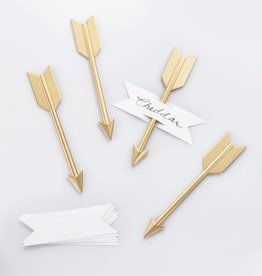 Beehive Handmade Arrow Cheese Set Brass