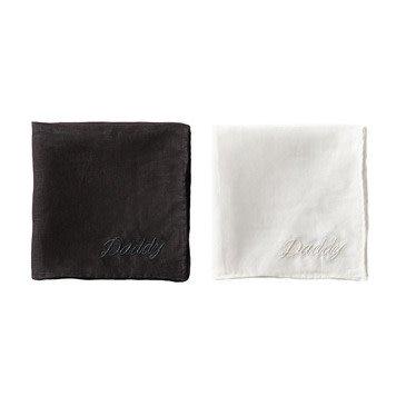 Sir Madam Daddy Handkerchief S/2