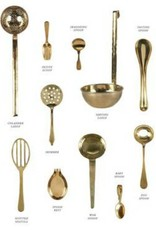 Sir Madam Brass Egg Spoon