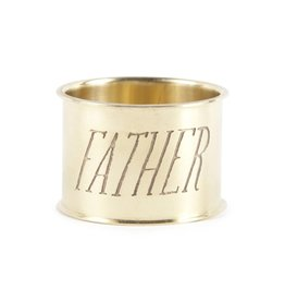 Sir Madam Father Napkin Ring