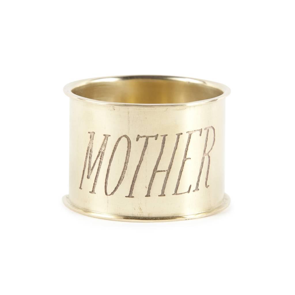 Sir Madam Mother Napkin Ring