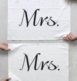 Tea Towel Set Mrs Mrs