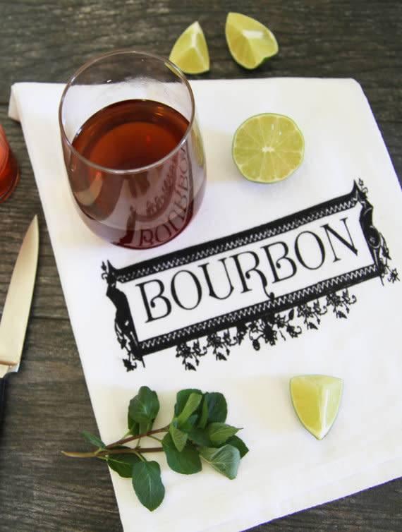 Bourbon Towel