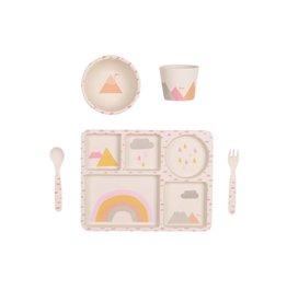 Love Mae Rainbows Dinner Set